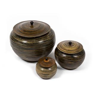 """7""""h - 13""""h Ceramic Container Set"""