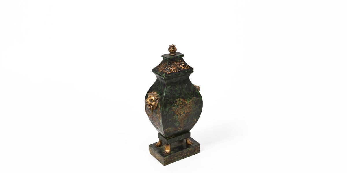 "19""h Black Vase ACC008390"