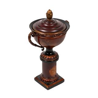 """13.5""""h Copper Urn ACC008640"""