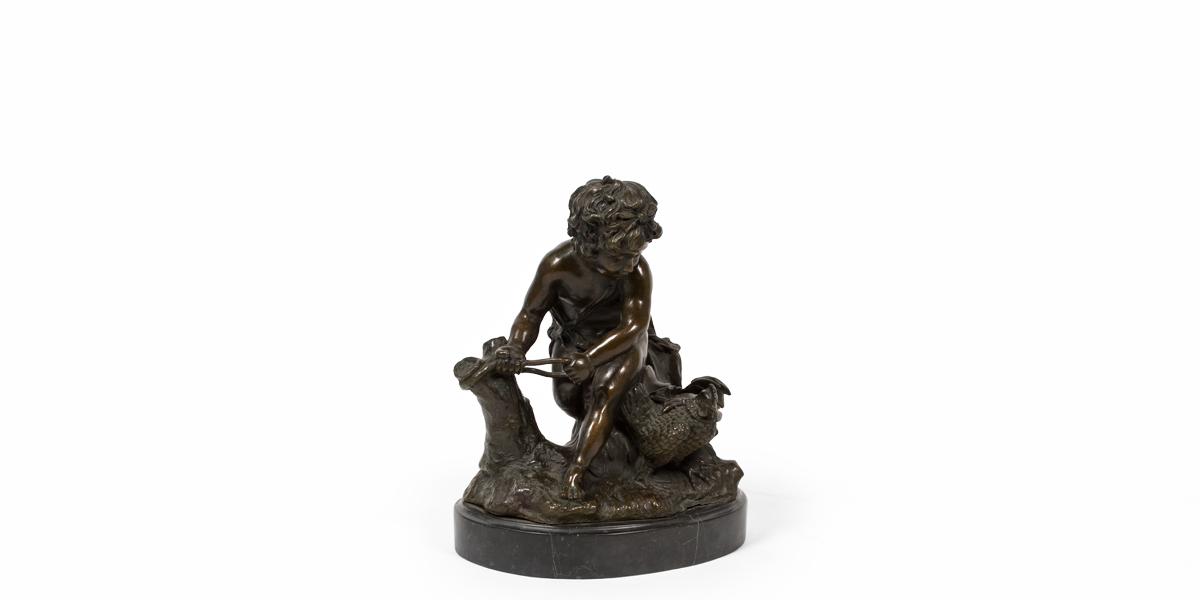 """12""""h Bronze Statue ACC010005"""