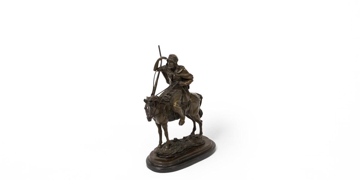 """14""""h Bronze Statue ACC010007"""