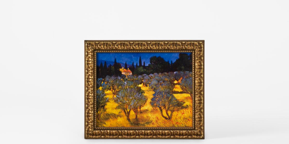 "35""w x 29""h Landscape Art ART007874"