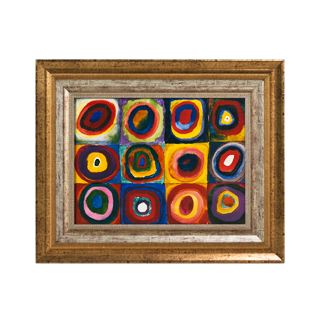 "37""w x 31""h Abstract Art ART007885"