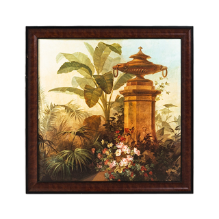"41""w x 41""h Floral Art ART007888"