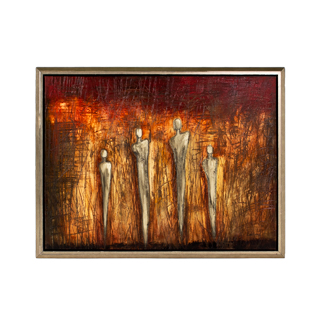 "52""w x 41""h Abstract Art ART010557"