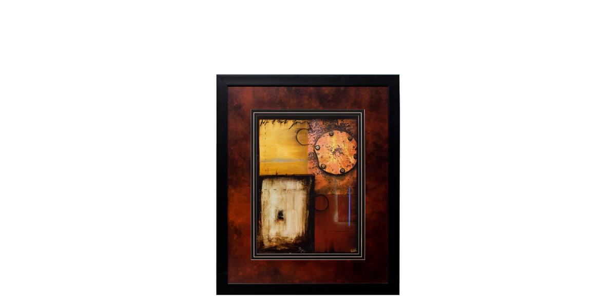 """32""""w x 38""""h Abstract Art ART011519"""