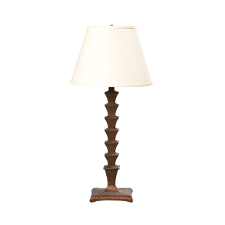 "30""h Copper Table Lamp LGT001416"