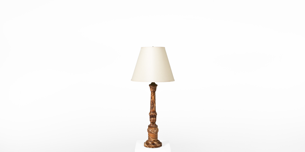 "35""h Marble Table Lamp LGT001576"