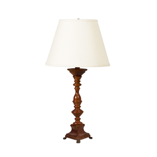 "26.5""h Wooden Table Lamp LGT004821"