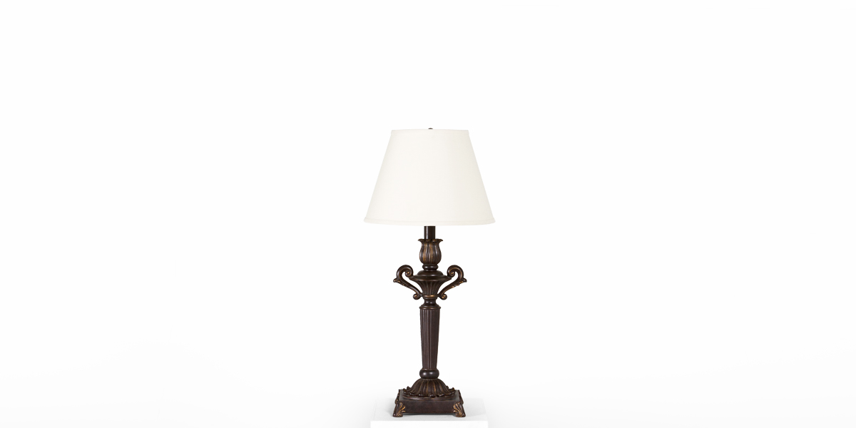 "34""h Bronze Table Lamp LGT007644"