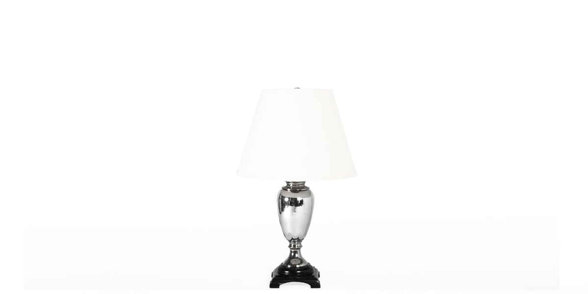 "24""h Polished Chrome Table Lamp LGT007916"
