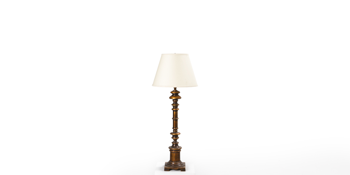 "38""h Bronze Table Lamp LGT009978"