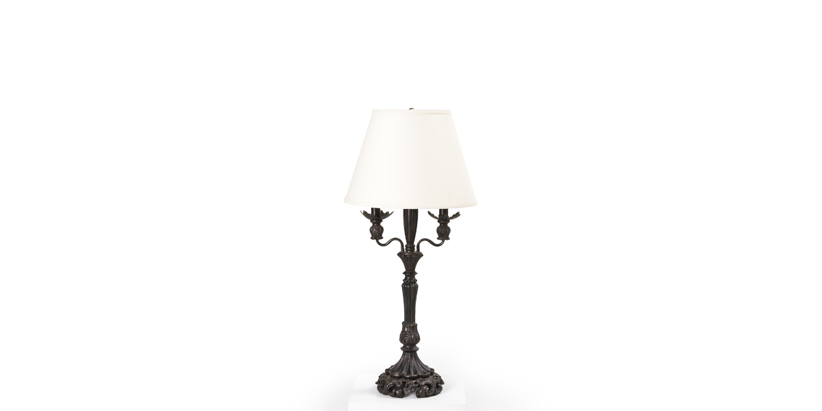 "34""h Bronze Table Lamp LGT009986"
