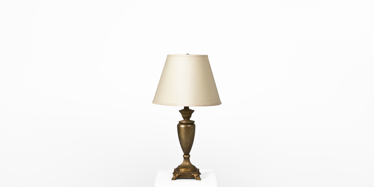 27.5''h Gold Table Lamp LGT010888