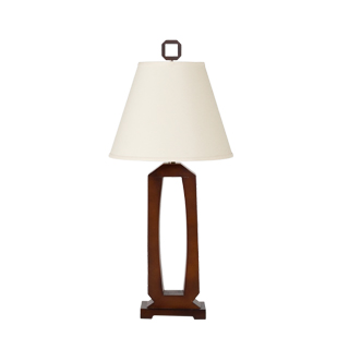 "34""h Dark Cherry Table Lamp LGT011328"