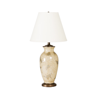 "29""h Beige Ceramic Table Lamp LGT011398"