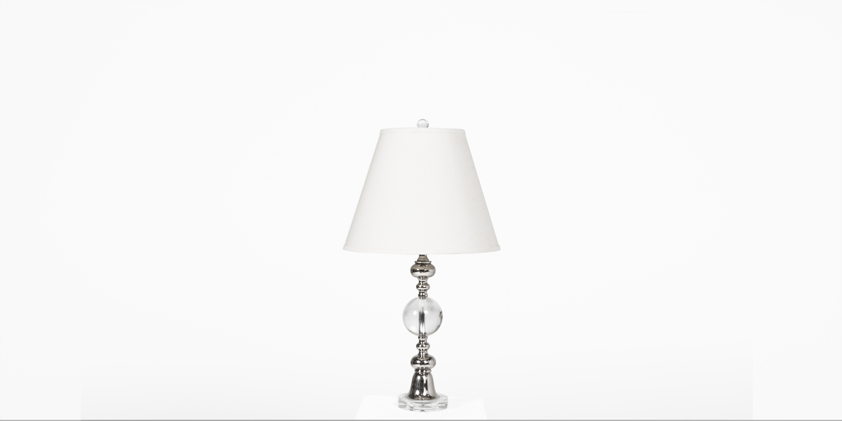 """28""""h Crystal Table Lamp LGT012397"""
