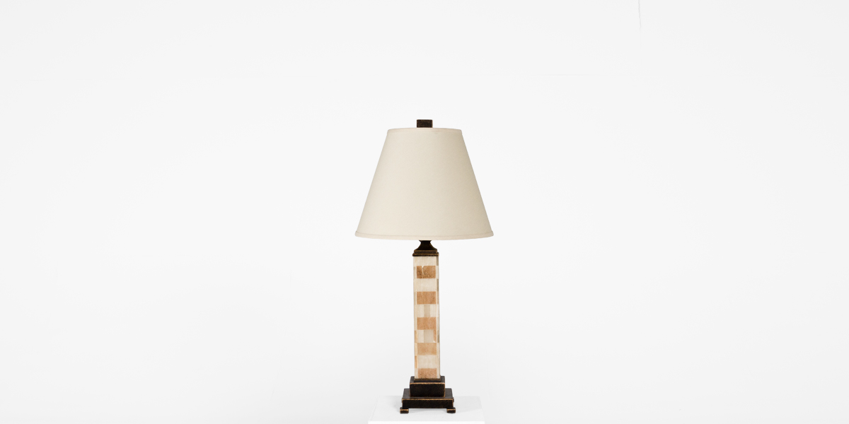 "33""h Natural Stone Table Lamp LGT012523"