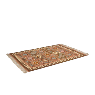 4' x 6' Aztec Patterned Area Rug MIS004927