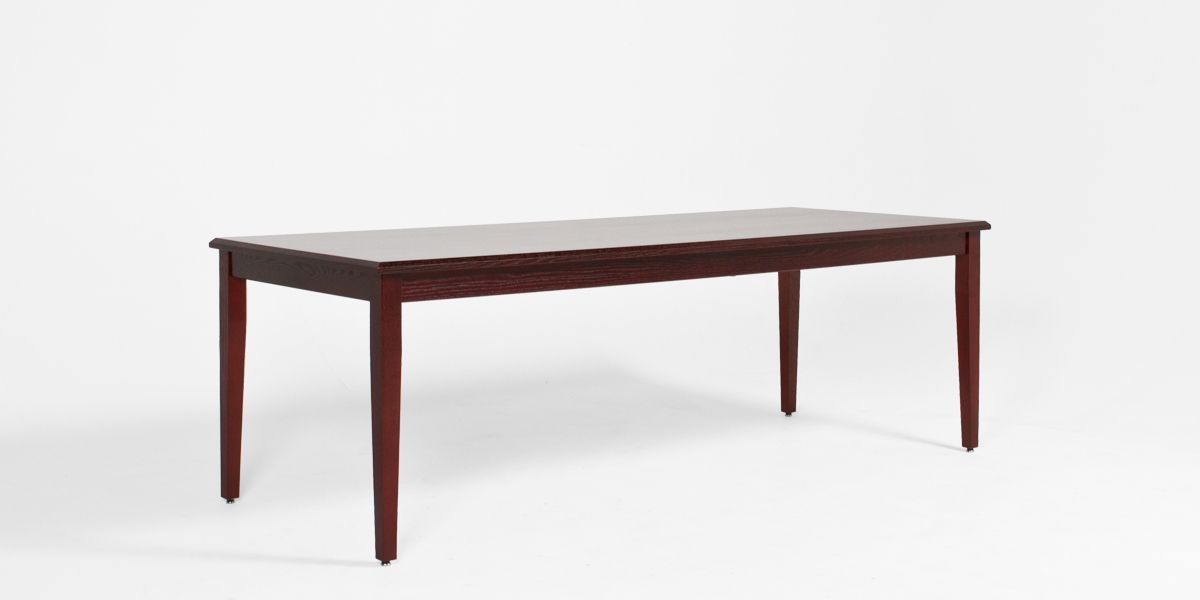 "90""w x 36""d Mahogany Lincoln Courtroom Table TBL013286"