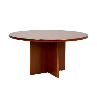 "60""dia Cherry Round Table TBR005354"