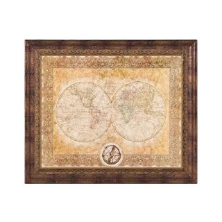 "36""w x 31""h Map Art ART007864"
