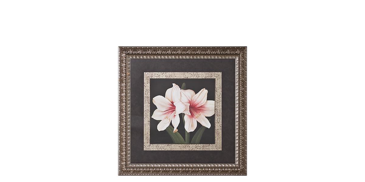 "38.5""w x 38.5""h Floral Art ART008043"