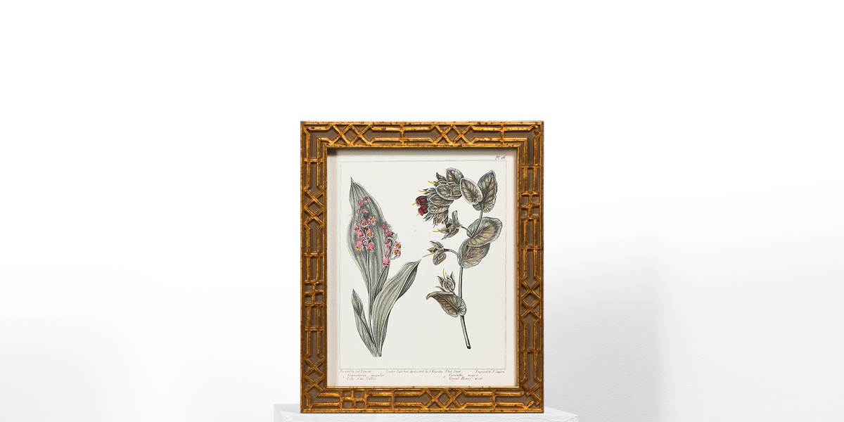 "10""w x 12""h Floral Art ART009487"