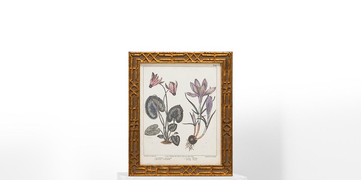 "10""w x 12""h Floral Art ART009488"