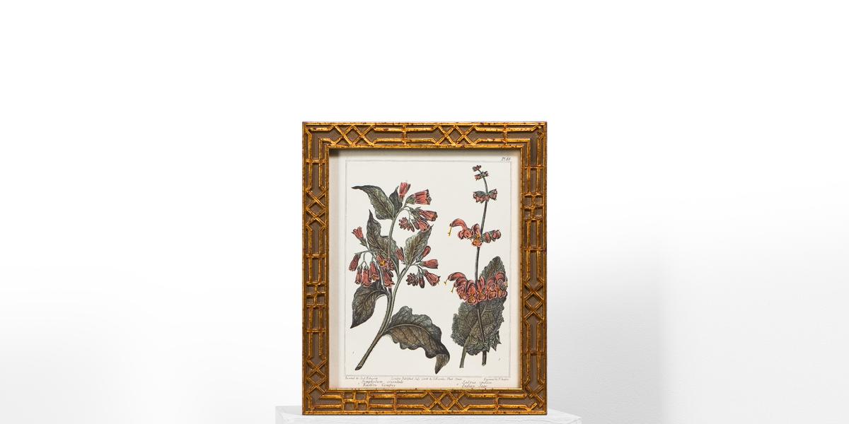 "10""w x 12""h Floral Art ART009492"