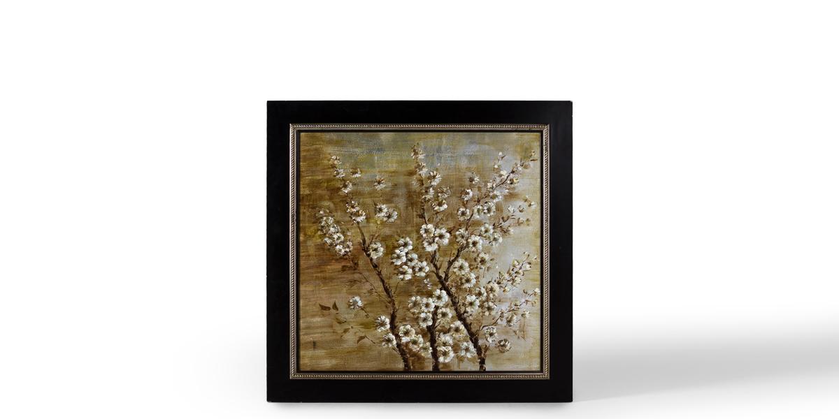 "50""w x 50""h Floral Art ART010885"