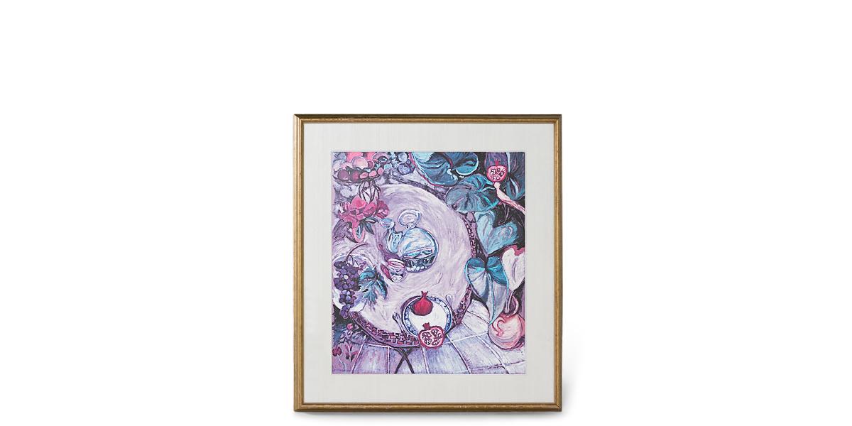 "36""w x 40""h Floral Art ART011293"
