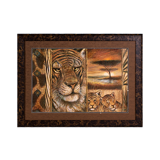"44""w x 32""h Animal Art ART011515"