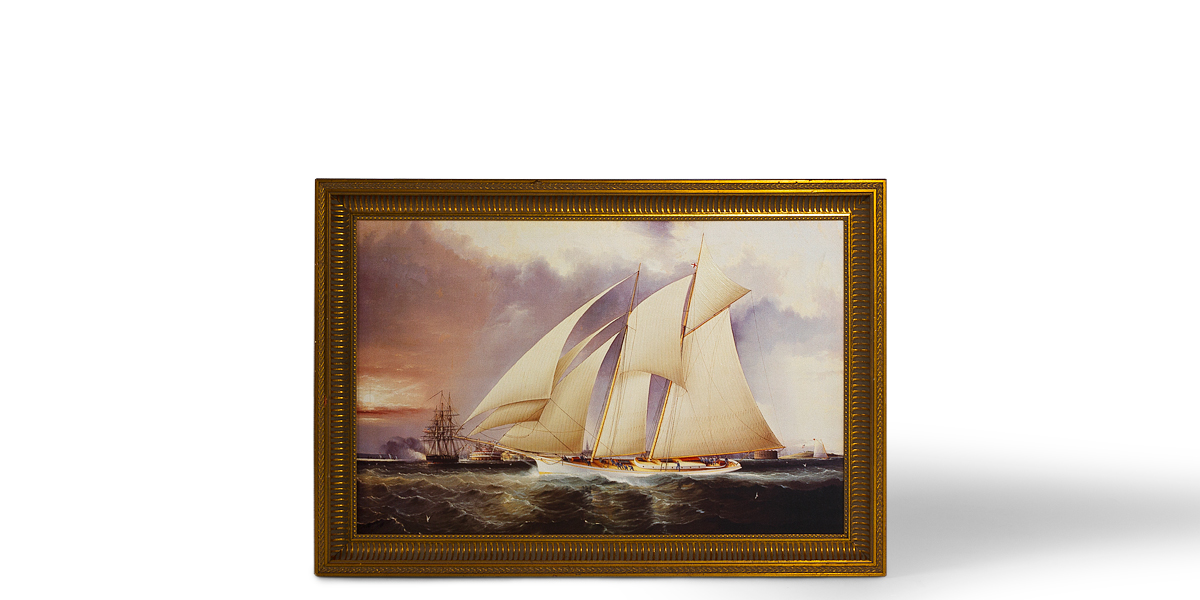 "46""w x 32""h Nautical Art ART011544"