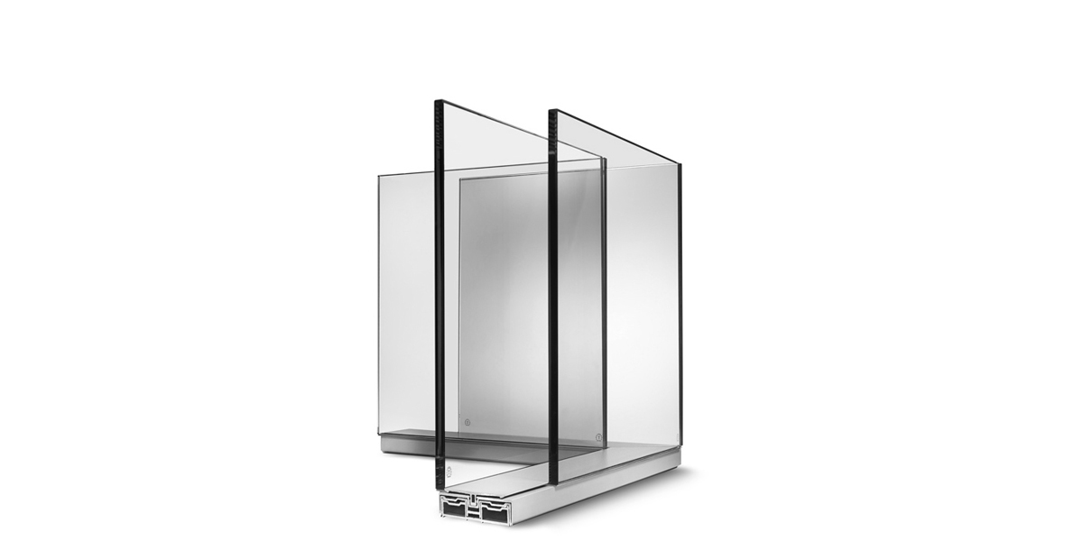 Maars Lalinea - Double Glazed Glass Wall