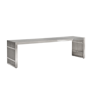 "60""w x 15""d Stainless Steel Bench BEN013487"