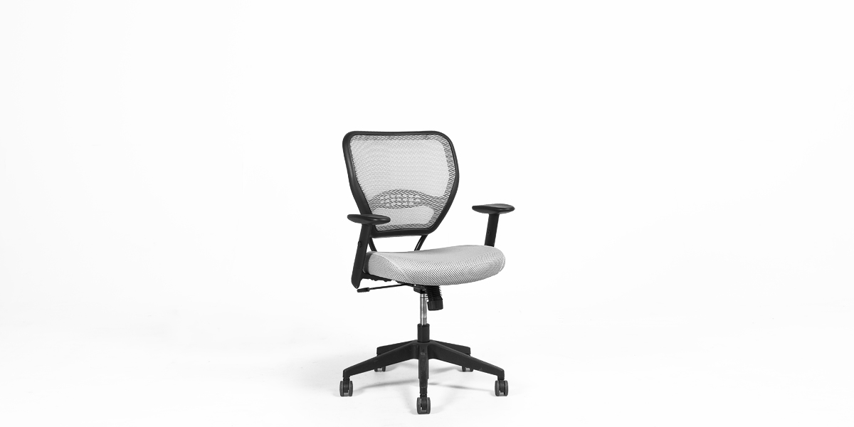Grey Mesh Mid-Back Task Chair CHR011885