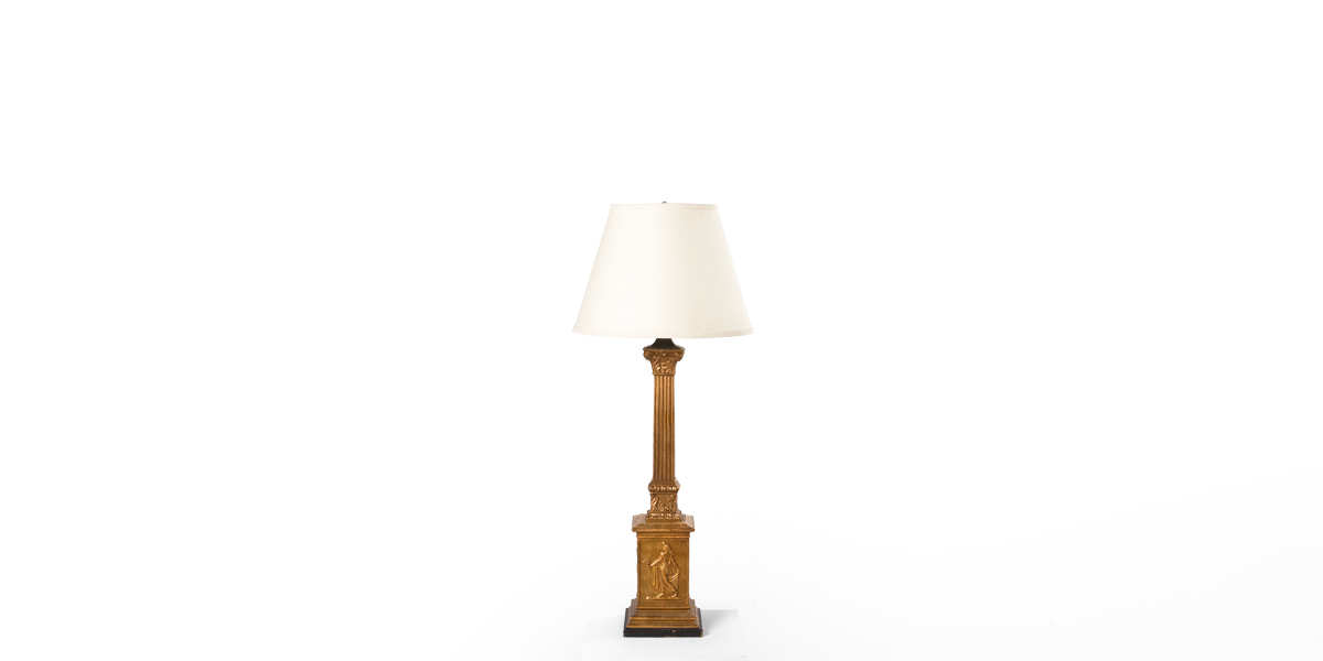 "33""h Gold Table Lamp LGT001410"