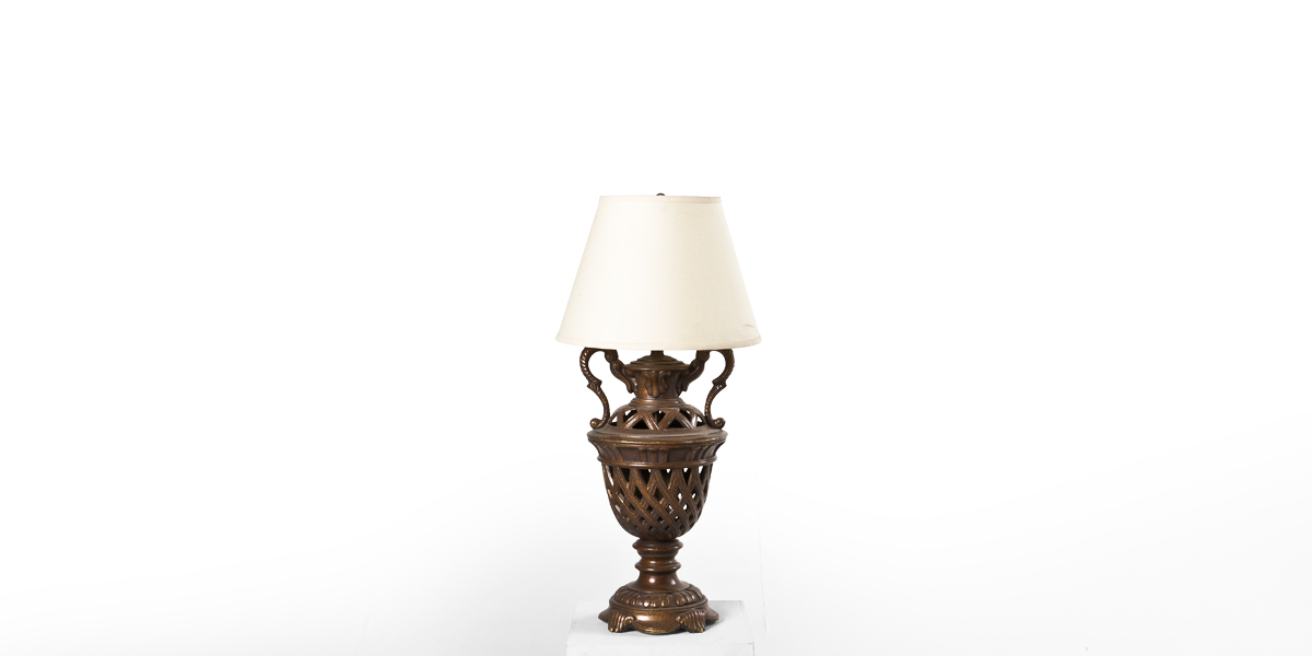 "29""h Bronze Table Lamp LGT001480"