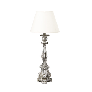 "33.5""h Silver Table Lamp LGT001533"