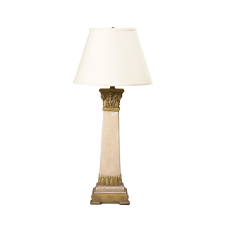 "31""h Natural Light Wood Column Table Lamp LGT001534"