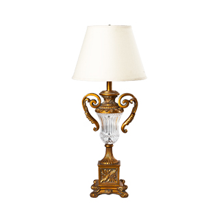 "32""h Gold Table Lamp LGT001537"