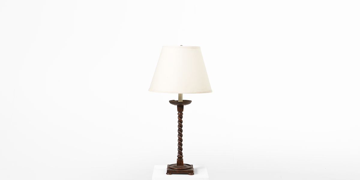 "28""h Tortoise Brown Table Lamp LGT001587"