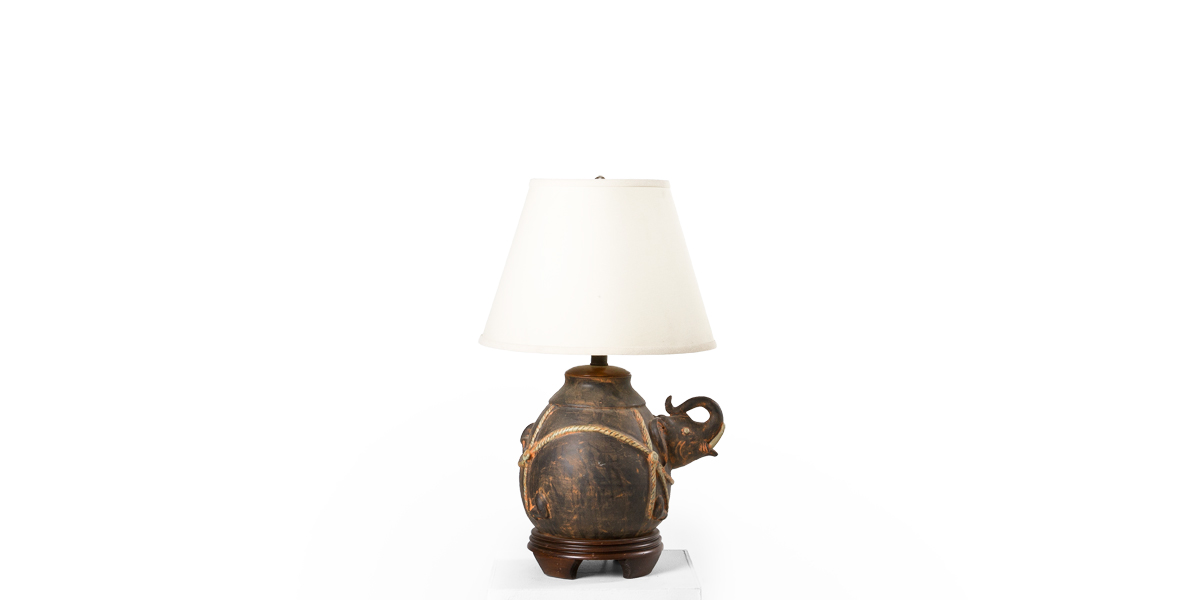 "23""h Wooden Table Lamp LGT001599"