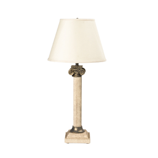"30""h Faux Stone Table Lamp LGT001620"