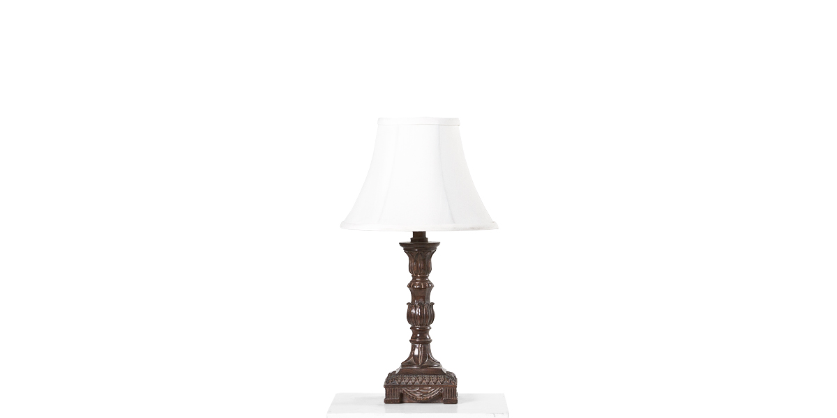 "15""h Bronze Table Lamp LGT006266"