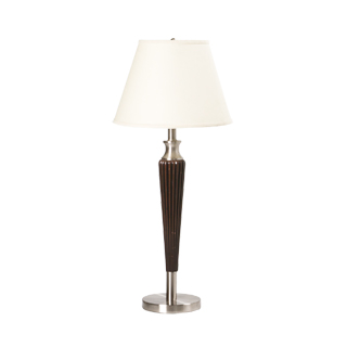 "34""h Dark Wood Table Lamp LGT007577"