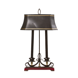 "24.5""h Dark Bronze Table Lamp LGT007592"