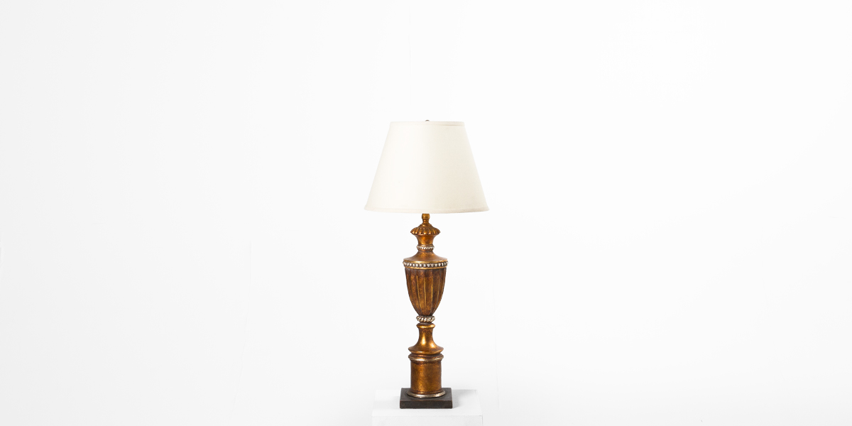 "34""h Bronze Table Lamp LGT007594"