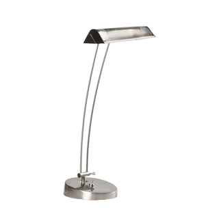 "21""h Stainless Steel Task Lamp LGT007627"